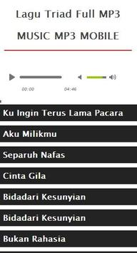 Lagu Triad Full MP3 apk screenshot