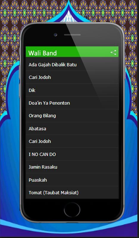 Lagu top wali band lenkap mp3 for android apk download.