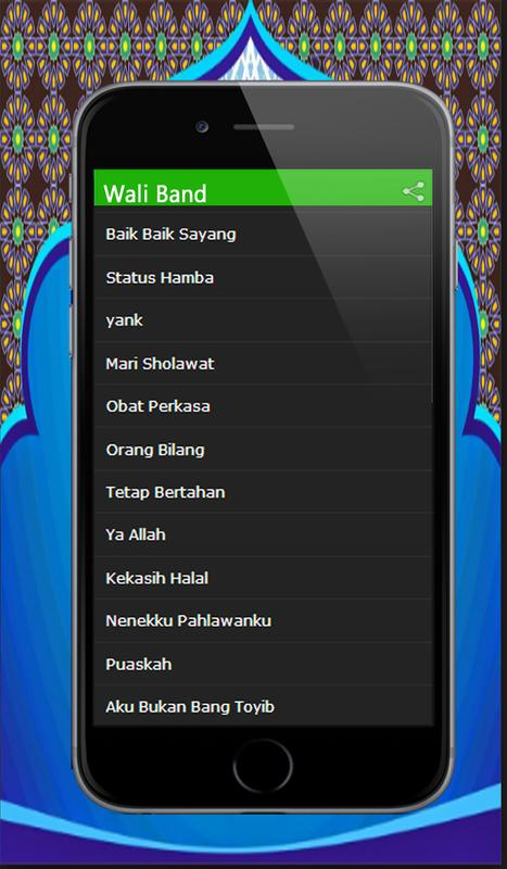 Lagu wali band for android apk download.