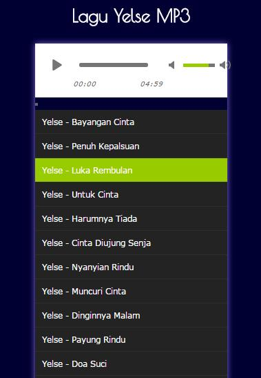 Lagu Yelse Mp3 For Android Apk Download