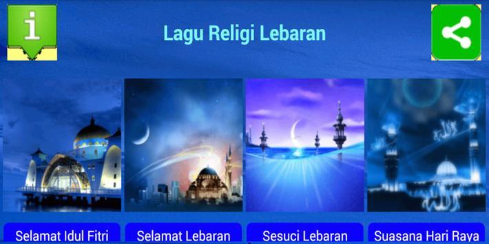 Lagu Religi Lebaran Terpopuler screenshot 4