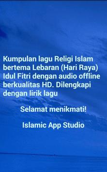 Lagu Religi Lebaran Terpopuler screenshot 3