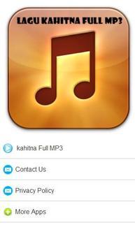 Lagu kahitna Full MP3 apk screenshot