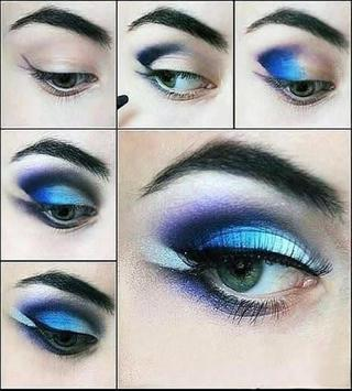 Ladies Eye Makeup Designs - Fashion App poster