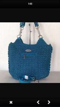 Lady Knitted Bag poster