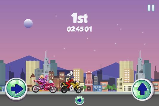 Ladybug Vs Princess Power Racing Game screenshot 2