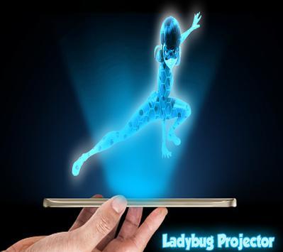 Ladybug 3D Projector Joke apk screenshot