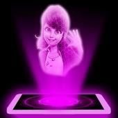 Ladybug 3D Hologram Joke icon