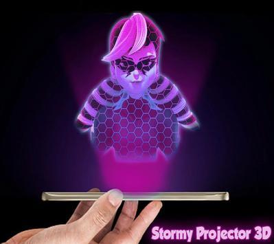 Ladybug 3D Hologram Joke poster