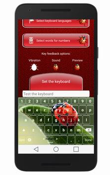 Ladybug Keyboard apk screenshot