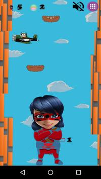 Miraclos Ladybug Go City jump screenshot 1