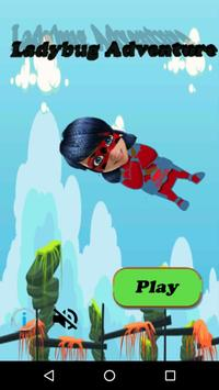 Miraclos Ladybug Go City jump screenshot 2