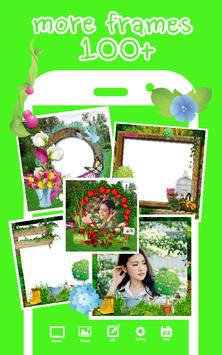 Garden Photo Frame apk screenshot