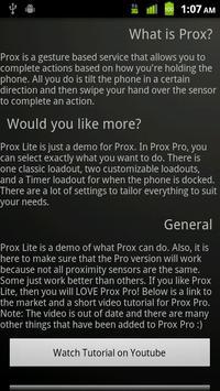 Prox Lite screenshot 1