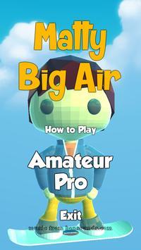 Matty Big Air poster