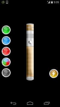 color laser flashlight simulation game screenshot 3