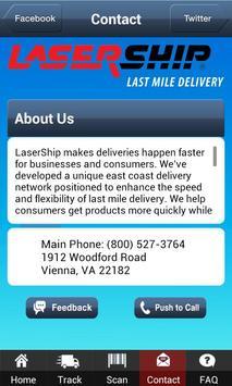 LaserShip apk screenshot