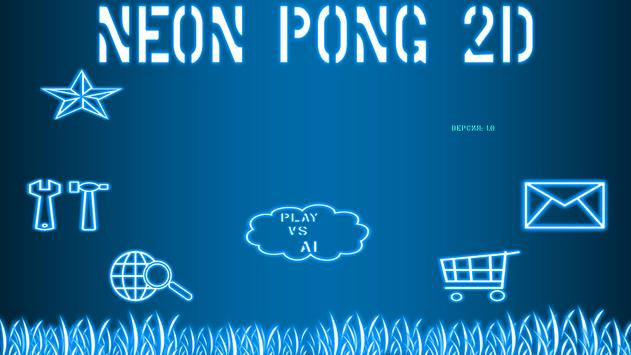Neon Pong poster