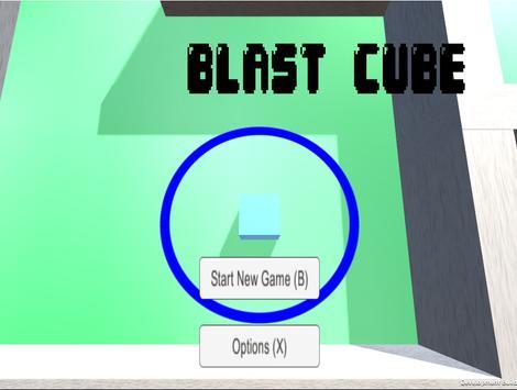 Blast Cube poster