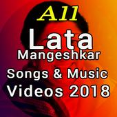 Lata Mangeshkar Video Songs & Music Videos 2018 icon
