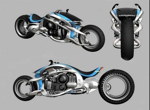 Motorcycle Design screenshot 3