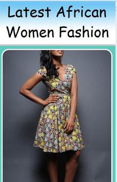 Latest African Women Fashion poster