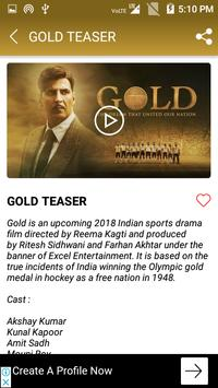 GOLD Movie Songs - Latest Bollywood Songs for Android - APK