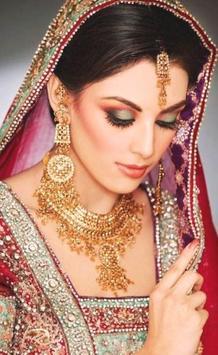 Latest Bridal Makeup Design poster