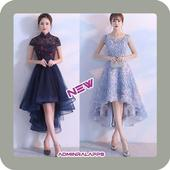 latest party dress designs icon