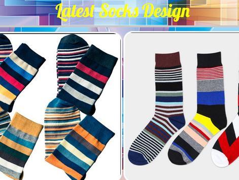Latest Socks Design poster