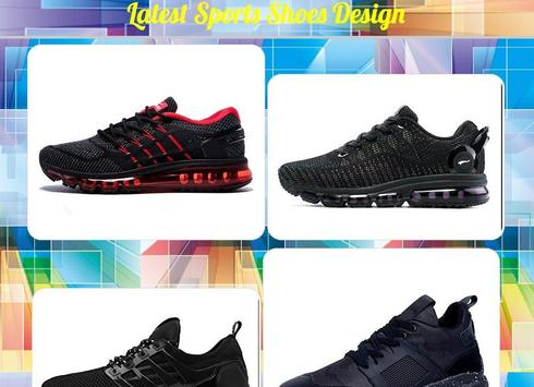 Latest Sports Shoes Design poster