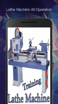 Lathe Machine Programming Operation Guide poster