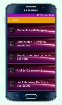 Latin American Rock screenshot 2
