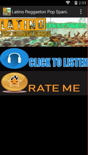 New Reggaeton Hits Spanish Pop Songs hits for Android - APK