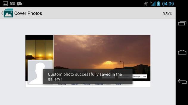 Make Cover Photos apk screenshot