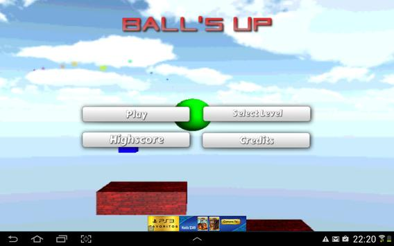 Ball's Up apk screenshot