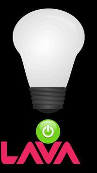 Lava Flashlight poster