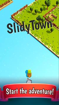 Slidy Town - Endless Arcade poster
