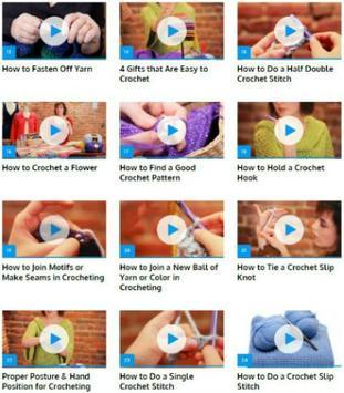 Crochet for Beginners screenshot 1
