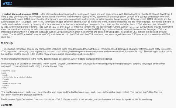 Learn Web Languages screenshot 4