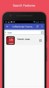 Tutorials for CoffeeScript Offline apk screenshot