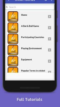 Tutorials for Cricket Offline screenshot 1