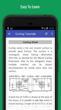 Tutorials for Curling Offline apk screenshot
