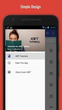 Tutorials for AWT Offline poster