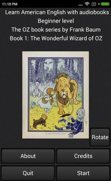 Wonderful Wizard of OZ audiobook Learn Am English poster