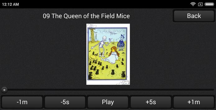 Wonderful Wizard of OZ audiobook Learn Am English apk screenshot