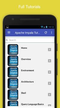 Tutorials for Apache Impala Offline apk screenshot