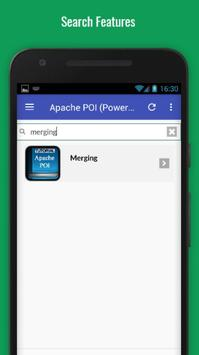 Tutorials for Apache POI (Powerpoint) Offline screenshot 2