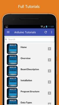 Tutorials for Arduino Offline screenshot 1