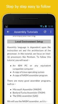 Tutorials for Assembly Offline screenshot 3